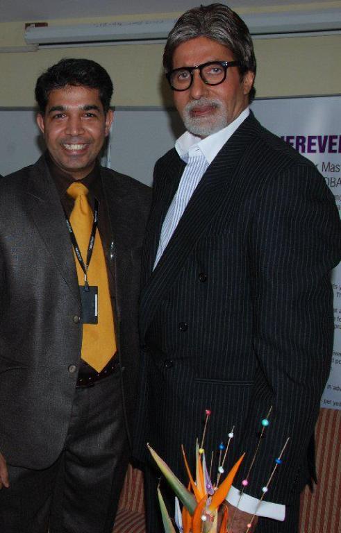 Amitabh Bachchan Amarkant Jain photo